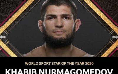 """Khabib Nurmagomedov otrzymał prestiżową nagrodę """"BBC World Sport Star"""""""